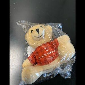 Coach key chain cute Teddy bear